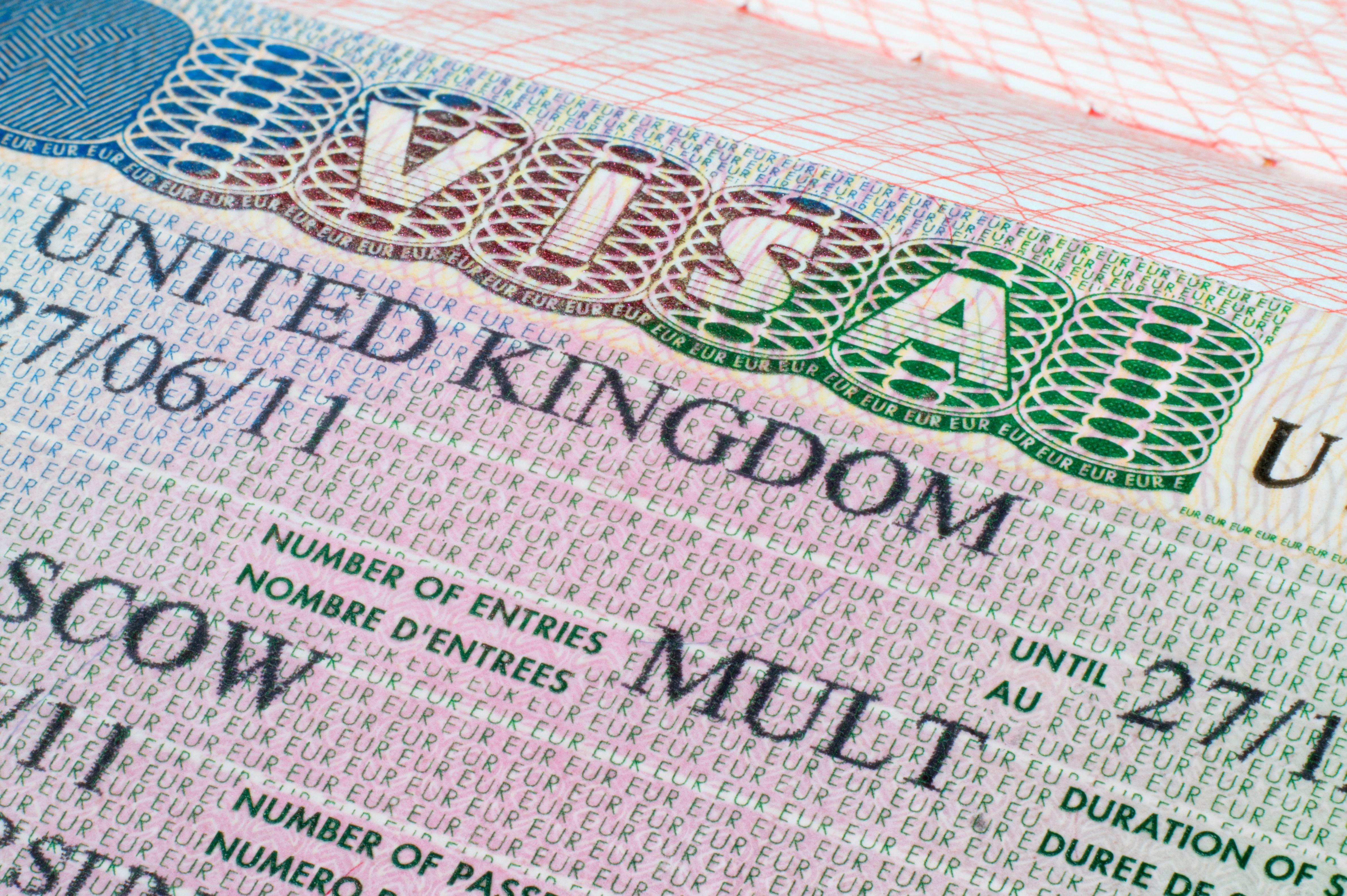 Анкета для визы в англию uk