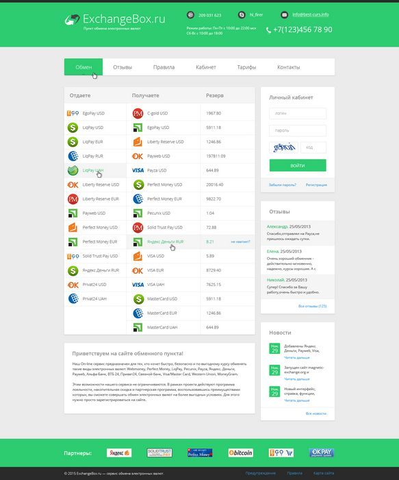 Бизнес-план обменного пункта webmoney