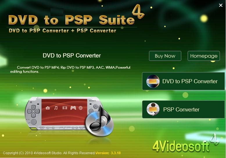 Чем конвертировать видео для psp