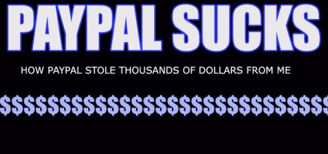 Что случилось с paypal