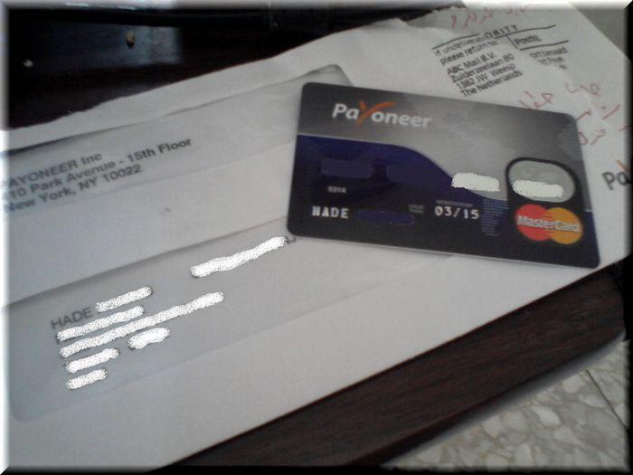 Что такое payoneer prepaid mastercard?