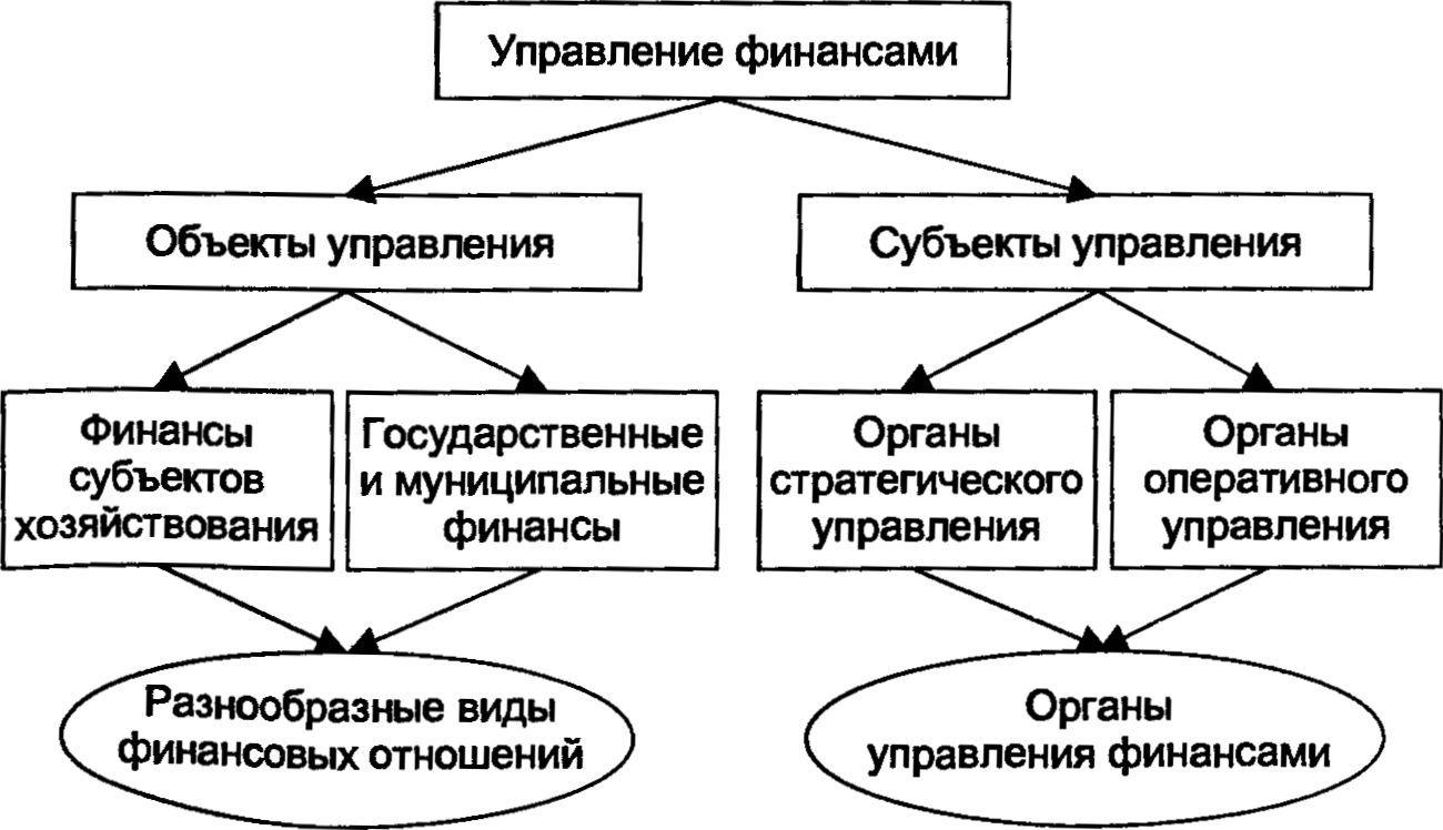 Финансовый менеджмент как система управления финансами организации