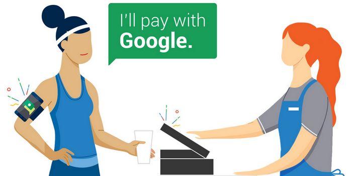Google тестирует мобильные платежи hands free