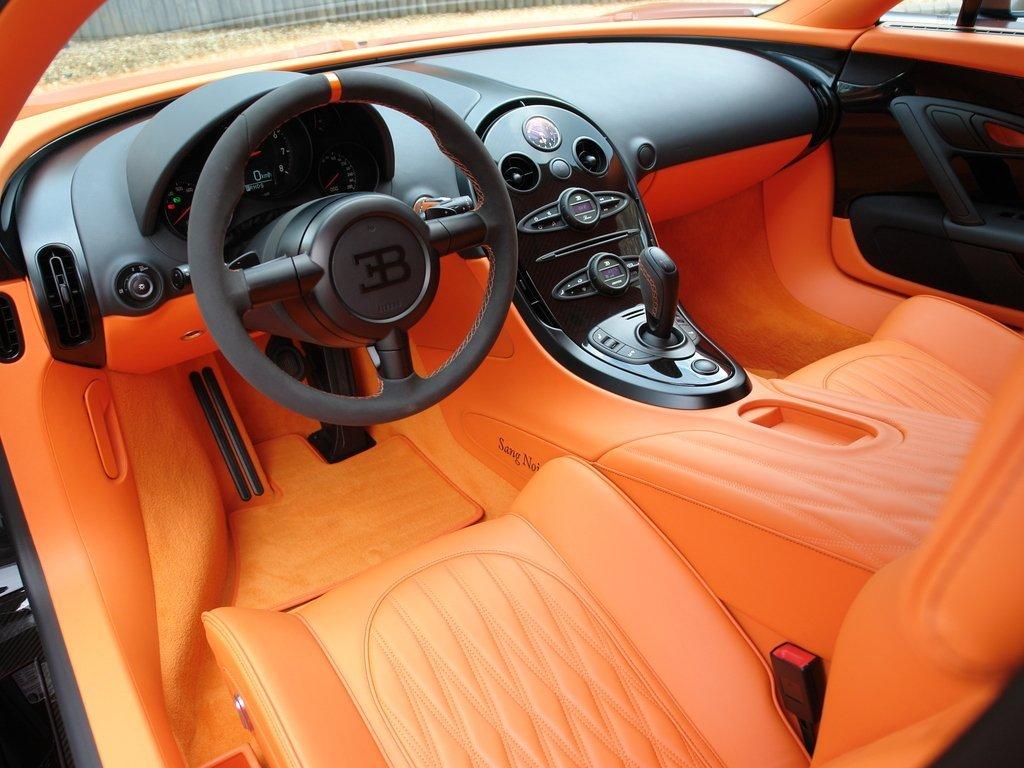 Характеристики самого быстро автомобиля в мире - bugatti veyron