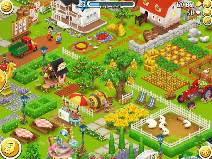 Hay day — одна из самых лучших бесплатных игр для ipad