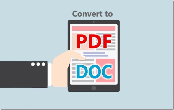 Как конвертировать pdf в doc (word)