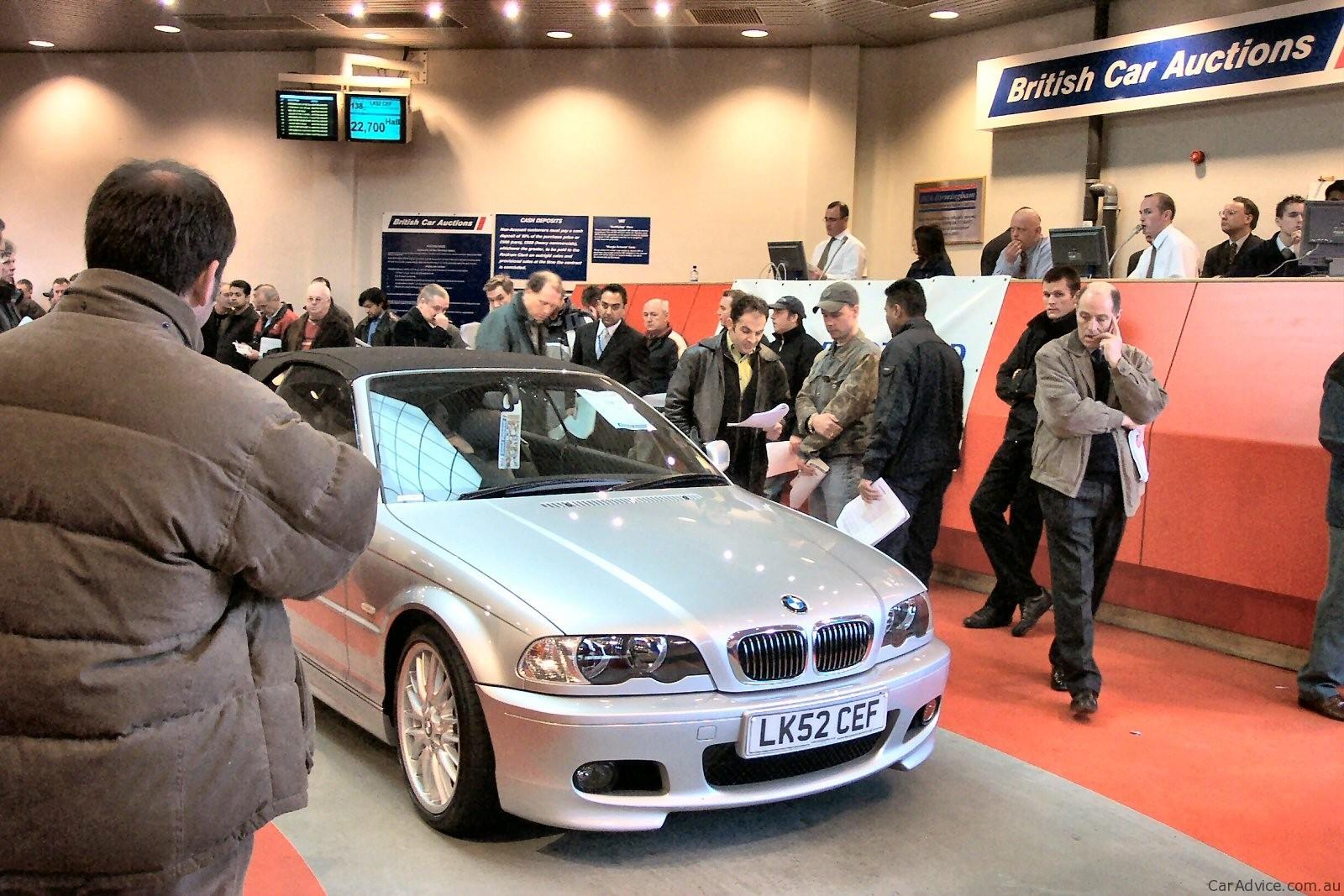Как купить автомобиль на аукционе