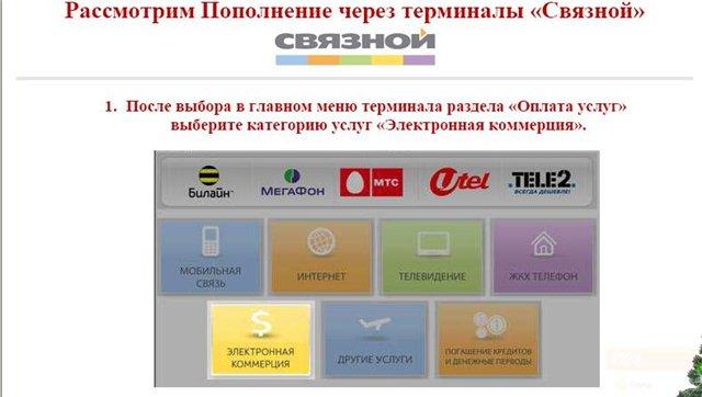 Как пополнить счёт skype через терминалы пополнения в россии?