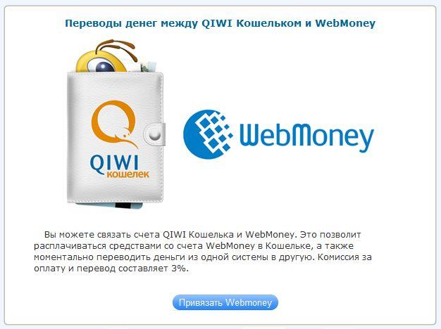 Как привязать киви к вебмани украина