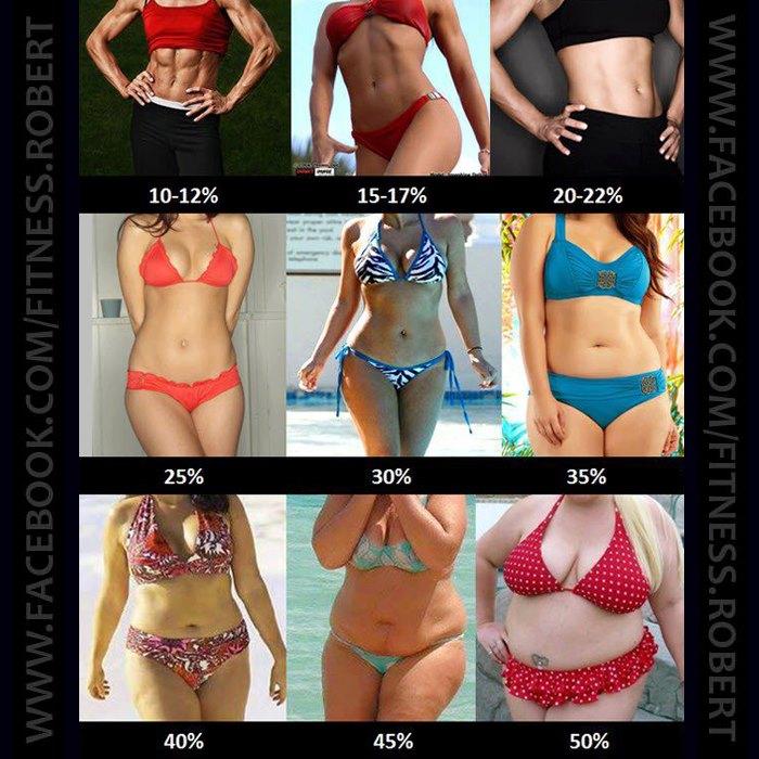 Как уменьшить процент жира в организме