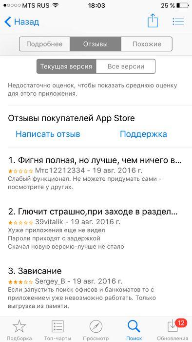 Обзор мобильных приложений №6: каждому свое