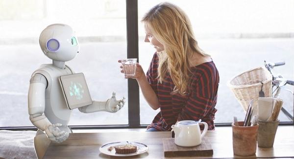 Pepper — клиентам поможет дружелюбный робот