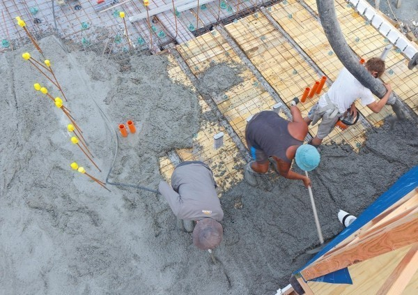 Расчет расхода бетона на фундамент