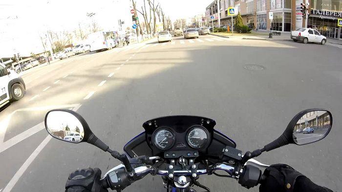 Расход топлива на мотоцикле