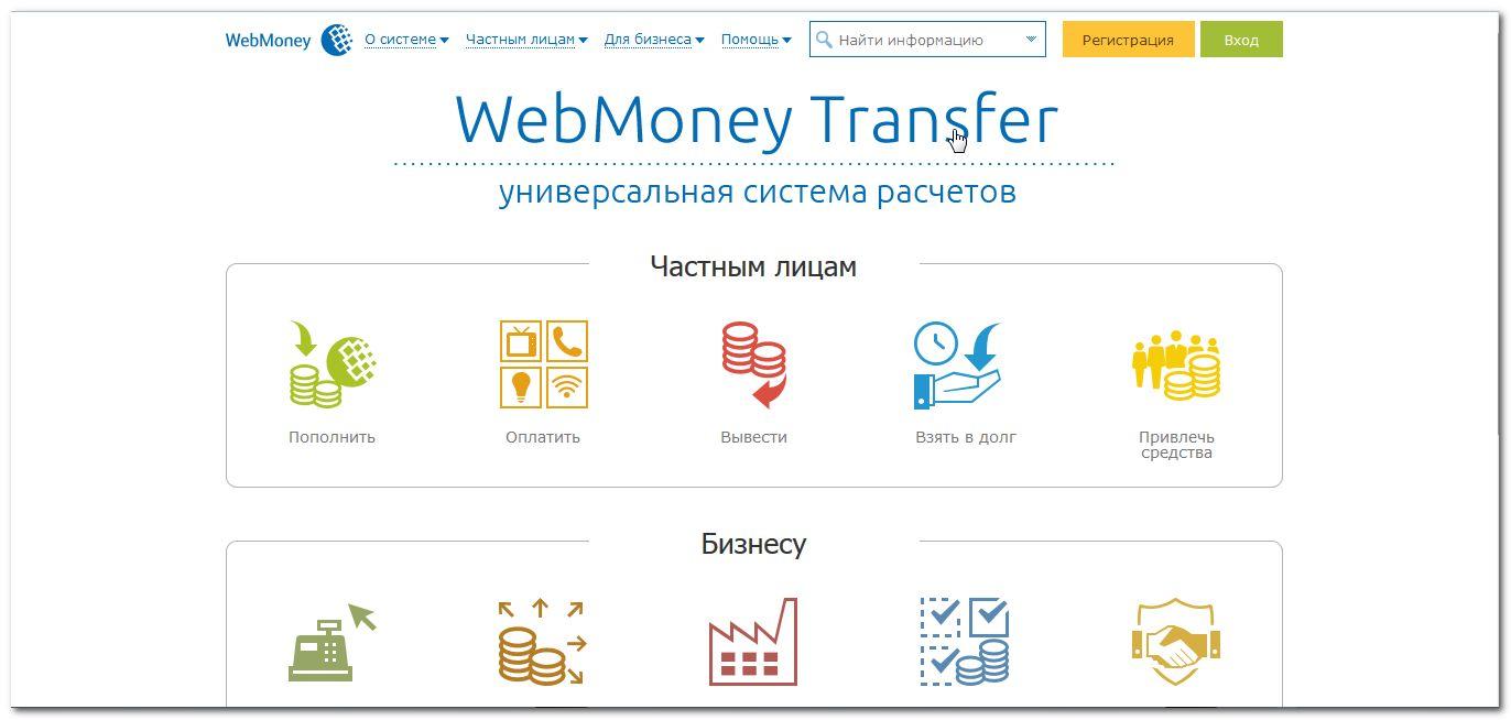 Система webmoney