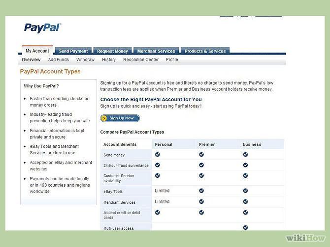 Соглашение с пользователем в отношении услуг paypal