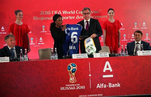 Все новые карты альфа-банка получат символику чемпионата мира по футболу